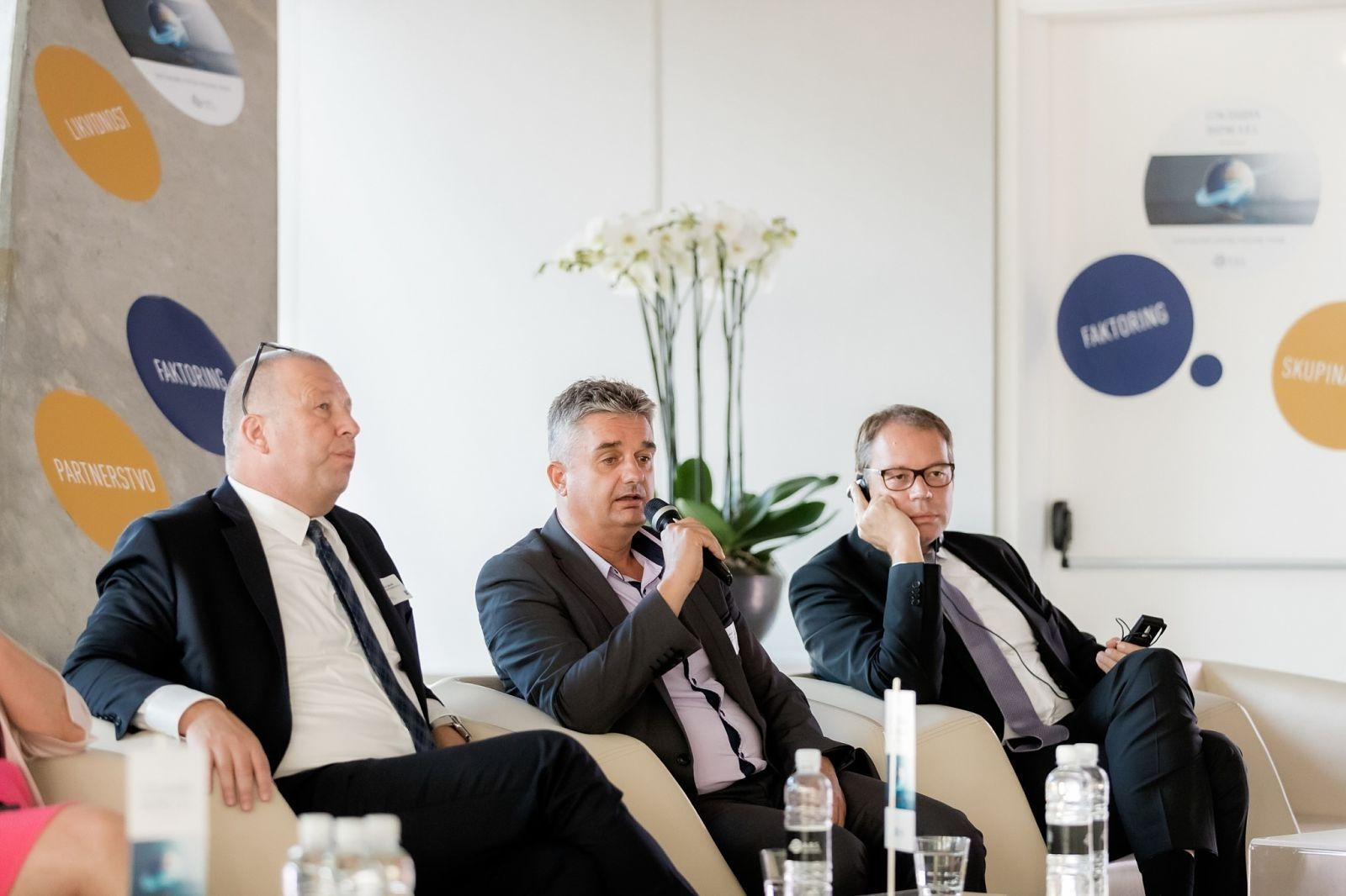 Letni dogodek Skupine A.B.S. 2019 okrogla miza: Thorsten Klindworth, Goran Novković, Davor Jakulin